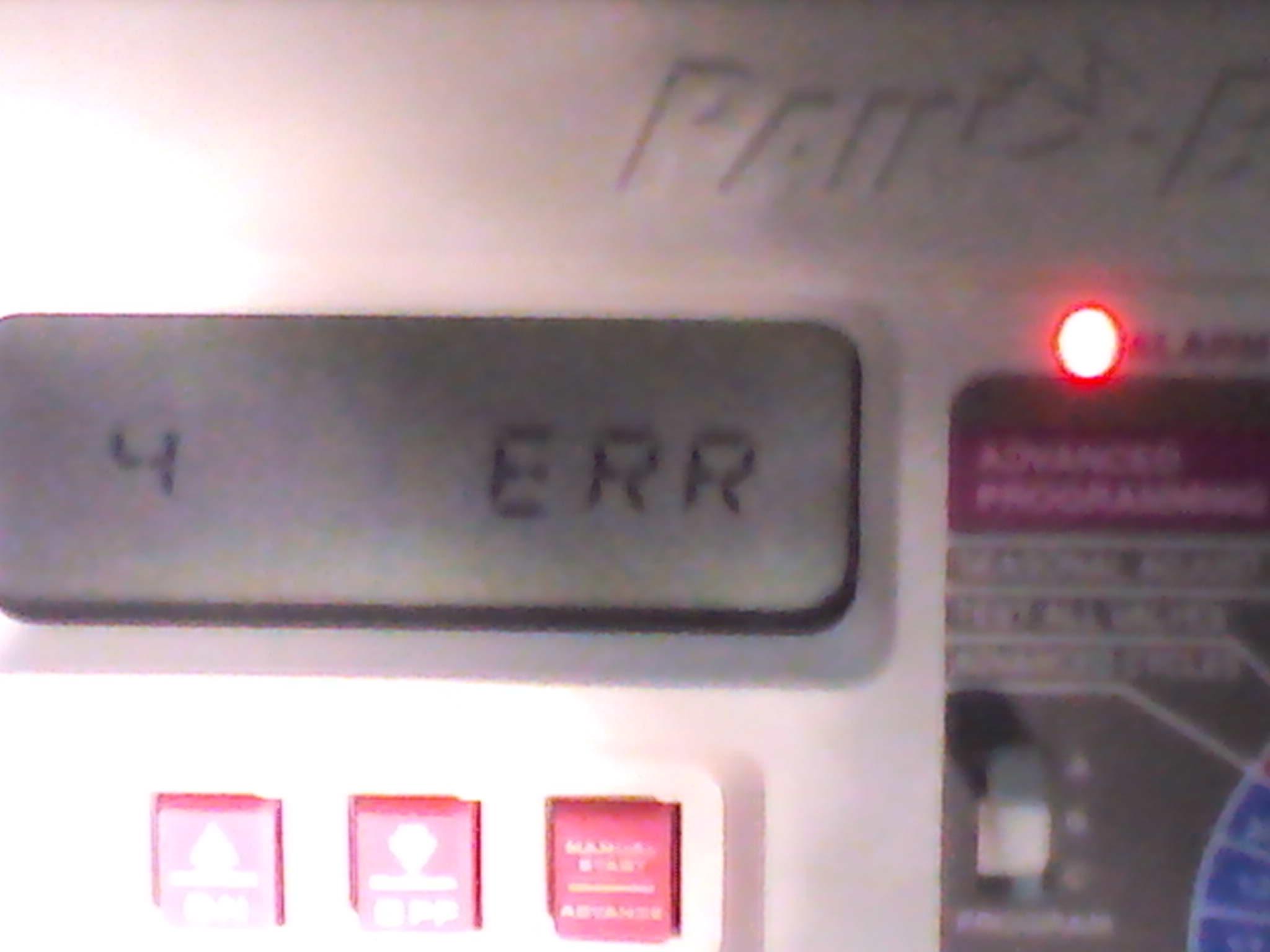 Rainbird Esp Modular Controller Error